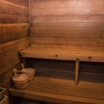 Indoor Cedar Sauna