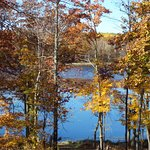 Private natural lake