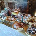 Desayuno con mermeladas artesanales de la anfitriona