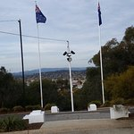 view over Albury from Monument