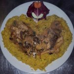 A heart shape Pollo Monica, :-)