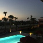 OceanView over the pool at sunset!