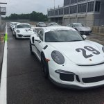 Yes, that is a brand-new GT3RS. That I drove. In the rain. Really, really, really fast!