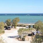View from Denham Seaside Tourist Village