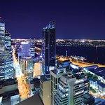 Perth City at night  - photo courtesy of Tourism WA