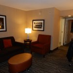 view of the comfortable separate suite