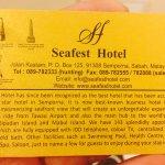 Foto de Seafest Hotel