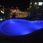 Pool at night open from 7am till 9pm