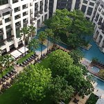 Inside Grounds & Pool : Siam Kempinski.