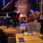 Intimate jazz club
