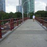 puente sobre la avenida