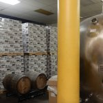 This is pretty much all you get to see of the Christian Moerlein Brewery
