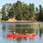 Canoe hire available on site