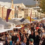 Hobart is home to the famous Salamanca Markets