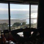 Ocean view from room 119, queen suite