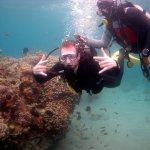 Scuba diving 2 min walk (off hotels beach)
