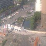 construction site - pretty noisy