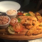 Seafood platter on our new menu