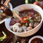 Vietnam Beef Noodle Soup 'Pho Bo' @Indochine Bistro