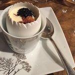 Golden eggs au caviar Kaviari