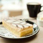 Biggest seller is the Custard vanilla bean slice