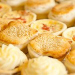 We cater for your morning tea shout - hot savouries