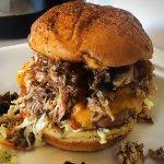 Smokin Hog Burger