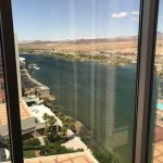 View of Colorado river from our room