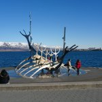 Solfar (Sun Voyager) Sculpture Foto