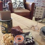 Cakes at The Rusty Bike Cafe