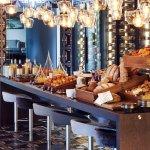 Breakfast buffet at La Fontana Ristorante & Bar