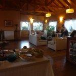 Réception et salle petit déj