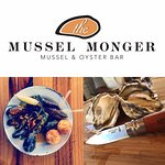 Fresh mussels and oysters