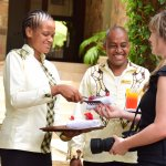 WELCOMING GESTURE WHEN YOU FIRST ARRIVE AT LAKE DULUTI LODGE!