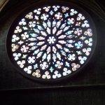the main window in the Basilica