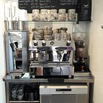 Freshly made Coffee & Hot Drinks to sit in or take away