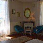 Espace salon chambre double Les Vignes