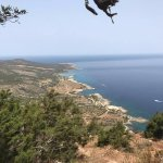 Akamas view for Aphrodite trekking path.