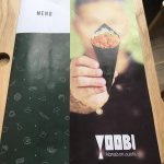 Yoobi - Menu Cover