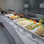 some of the cold buffet
