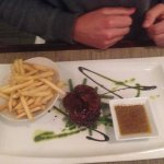 Ostrich Steak and fries