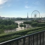 This is the hotel made me love Paris again. We got a suite with a view of the Eiffel Tower and t