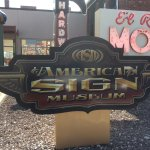 Entrance to the sign museum