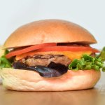 Our tasty burger, freshly prepared on a daily basis