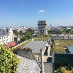 The Rooftop at Hotel Raphael, 17 Avenue Kleber, Paris. Arc de Triomphe a few steps away.