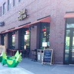 our front entry on the corner of 37th and Nicollet - Eat Street South!