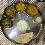 Delicious home cooked Thali