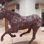 Lyle Nichols horse sculpture