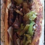 Team Lindey's Steak Sandwich