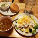 Soup and salad bar
